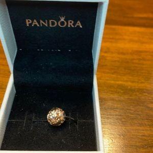 Pandora rose gold essence charm
